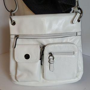 Giani Bernini Leather Shoulder Bag Crossbody Purse